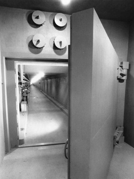 Jedno z wejść do schronu pod hotelem The Greenbrier