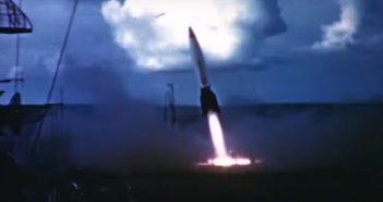 Operation Sandy - wystrzelenie rakiety V2 z pokładu lotniskowca