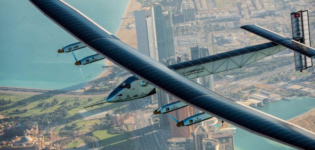 Solar Impulse 2 - dookoła świata na bateriach słonecznych
