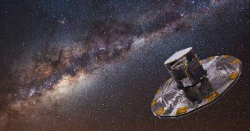Satelita Gaia stworzył mapę przedstawiającą 1,6 mld gwiazd