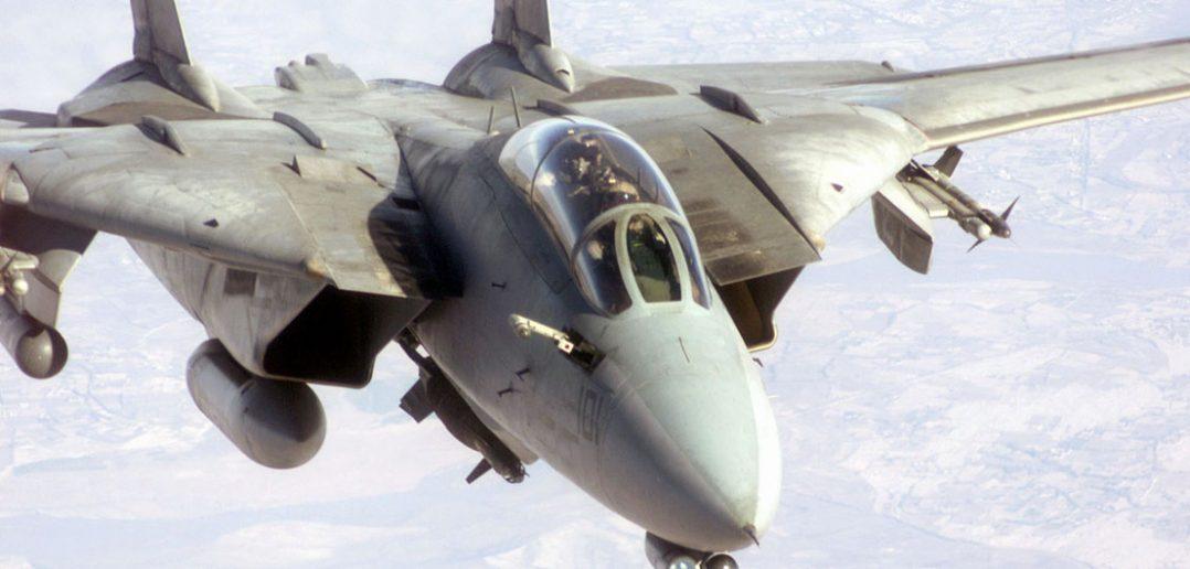 F-14 Tomcat - legendarny amerykański myśliwiec pokładowy