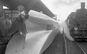 Schienenzeppelin - połączenie pociągu z samolotem