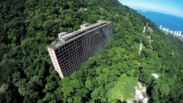 Ruiny Gávea Tourist Hotel w Rio de Janeiro