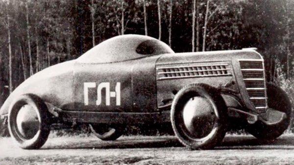 GAZ GL-1 w późniejszej konfiguracji