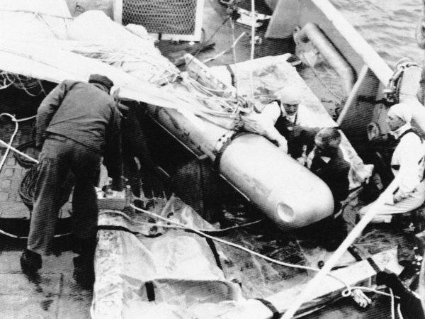 Wydobyta bomba atomowa niedaleko Palomares w Hiszpanii
