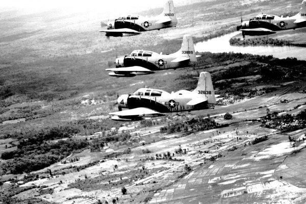 Douglas A-1E Skyraider w Wietnamie - 25 czerwca 1965 roku