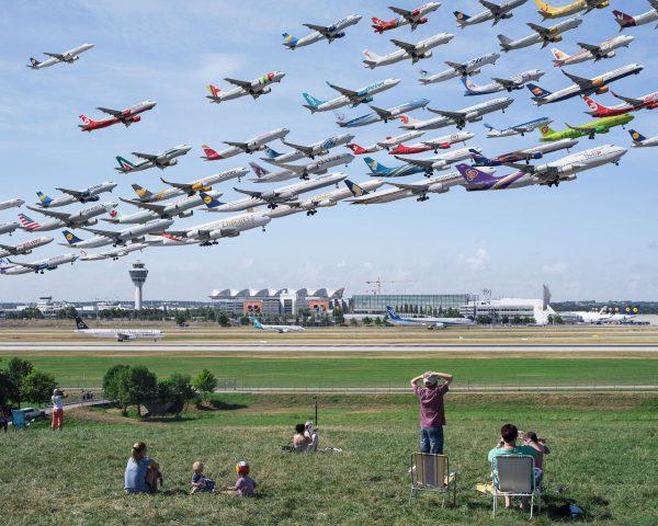 Flughafen-München - 08R (fot. Mike Kelley)
