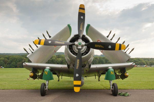 Douglas A-1D Skyraider (fot. Julian Herzog)