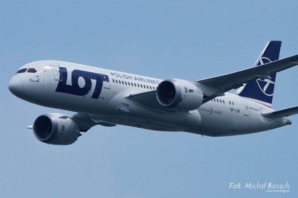 Boeing 787 Dreamliner PLL LOT (fot. Michał Banach)
