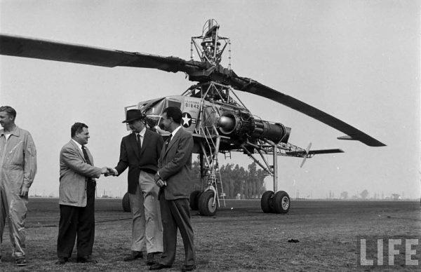 Hughes XH-17 (fot. LIFE)