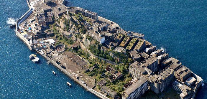 Hashima – niesamowita opuszczona wyspa