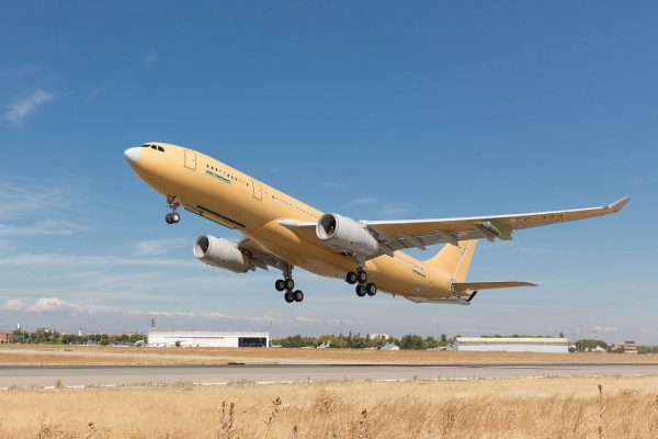 Najnowszy Airbus A330 MRTT (fot. Airbus Defence & Space)