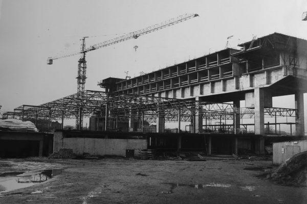 Hotel Forum w trakcie budowy