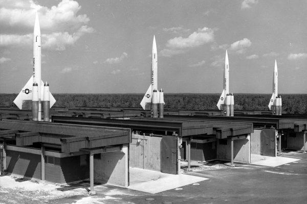 Rakiety BOMARC w 1960 roku w New Jersey