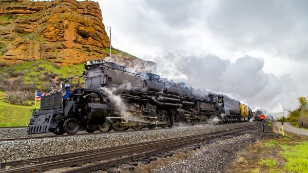 Union Pacific Series 4000 Big Boy nr. 4014 (fot. Aaron Pedersen)