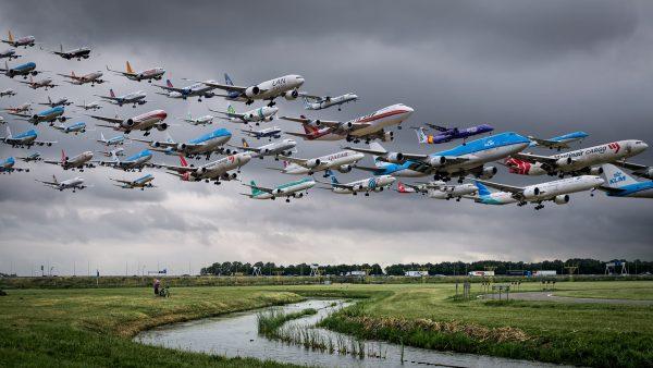 Amsterdam-Schiphol - 18R (fot. Mike Kelley)