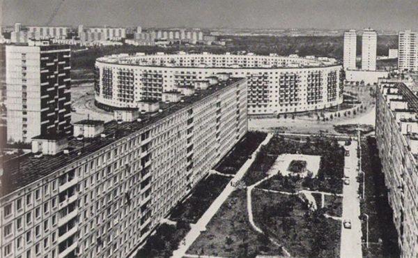 Okrągły blok w Moskwie