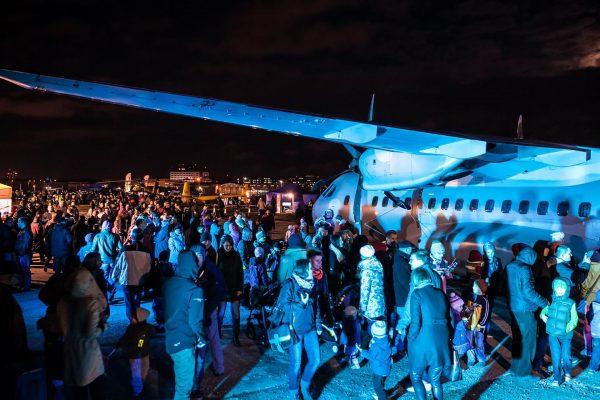 Poprzednia edycja Nocy w Instytucie Lotnictwa (fot. Instytut Lotnictwa)