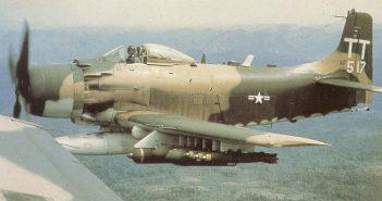 Długowieczny Douglas A-1 Skyraider