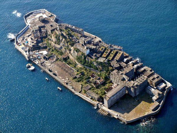Hashima (fot. kntrty/Wikimedia Commons)