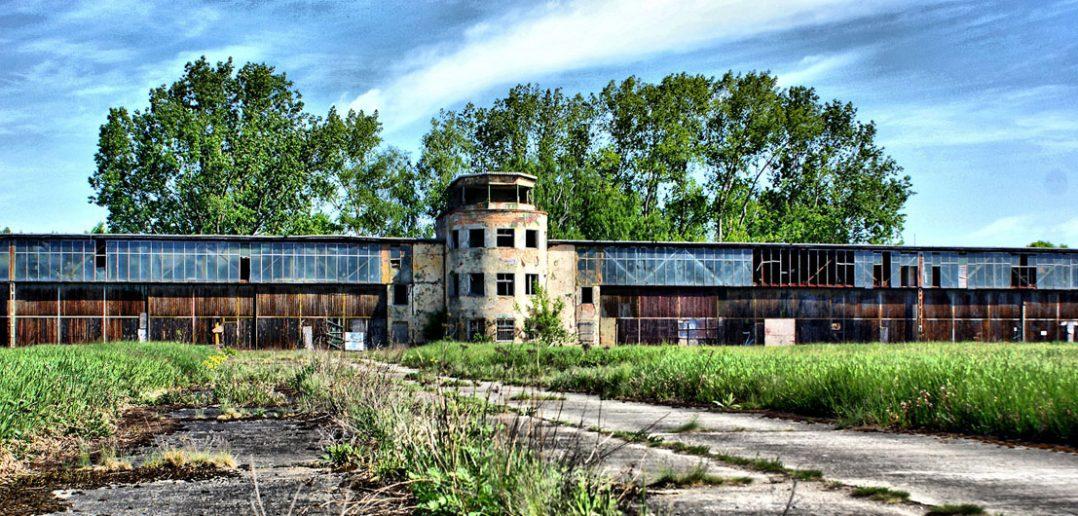 Opuszczone lotnisko Rangsdorf pod Berlinem