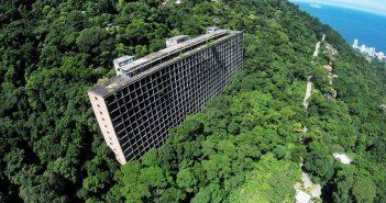 Gávea Tourist Hotel - opuszczony hotel w Rio de Janeiro