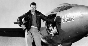 Pokonanie bariery dźwięku - Chuck Yeager i jego Bell X-1