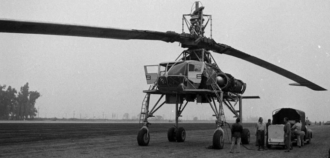 Hughes XH-17 - eksperymentalny latający dźwig