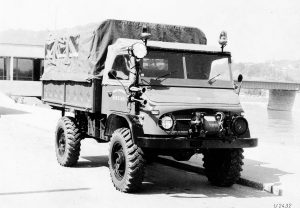 Unimog 404 (fot. Daimler AG);