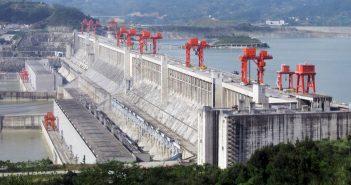 Zapora Trzech Przełomów - największa hydroelektrownia na świecie