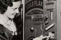 Automat do sprzedaży zapalonych papierosów - zdjęcie