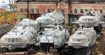 Zapomniane radzieckie wodoloty Woschod i Meteor