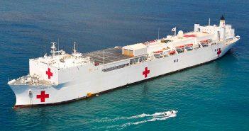Okręty typu Mercy - największe okręty szpitalne na świecie