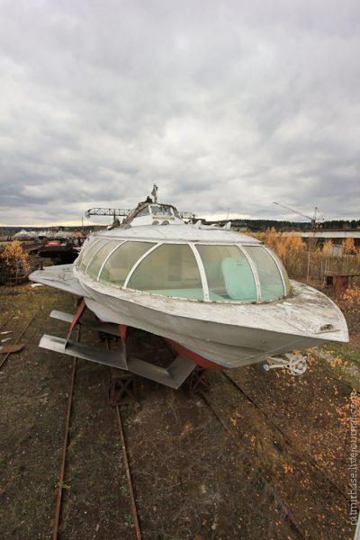 Zapomniane wodoloty w mieście Perm (fot. Ratmirfoto)