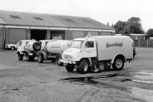 Unimog 411 (fot. Daimler AG);