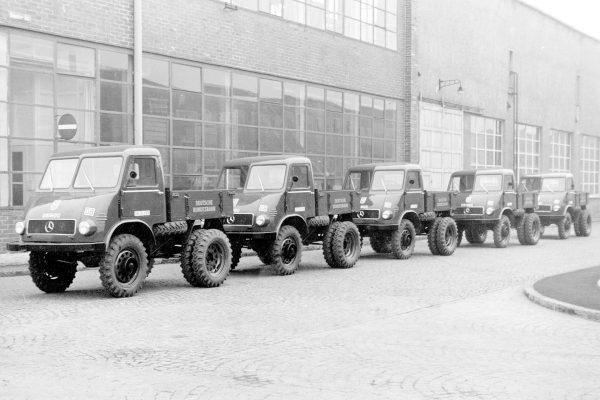 Unimog 401 - 1953 rok (fot. Daimler AG)