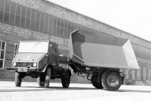 Unimog 402 (fot. Daimler AG)
