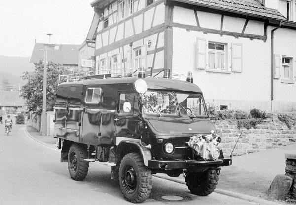 Unimog 404 (fot. Daimler AG)