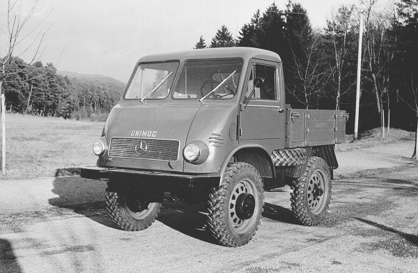 Unimog 401/402 - 1953 rok (fot. Daimler AG)