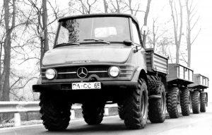 Unimog 406 (fot. Daimler AG)