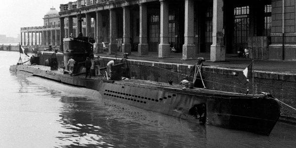 U-471 już jako francuski Mille (fot. Giorgio Ghiglione)