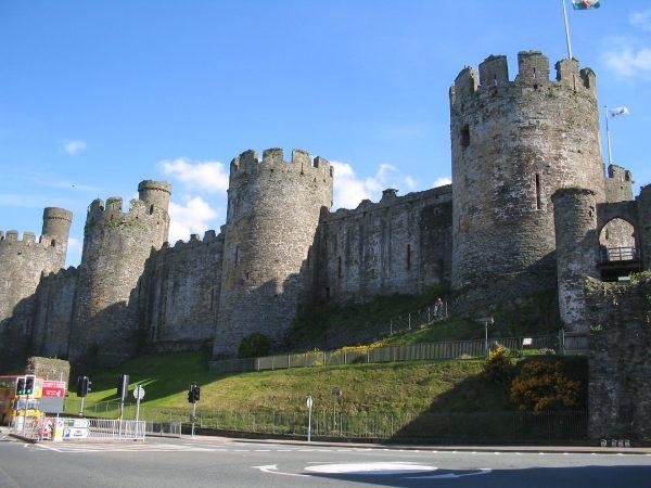 Zamek Conwy (fot. Wikimedia Commons)