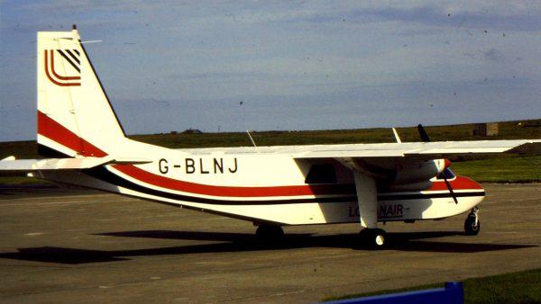 Britten-Norman BN-2B-26 Islander (G-BLNJ) (fot.G B_NZ/Flickr.com)