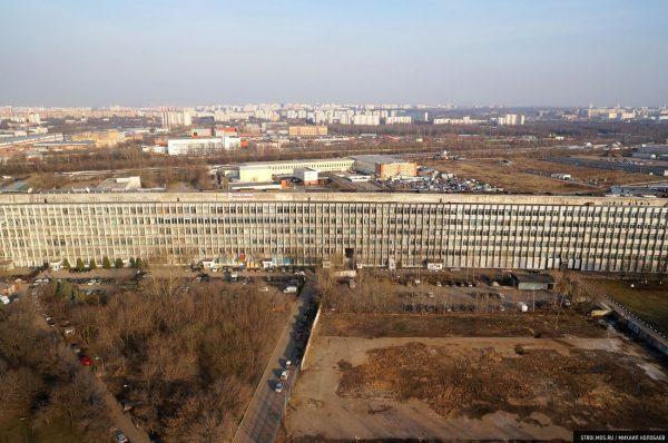 Kompleks laboratoryjno-biurowy przy szosie Warszawskiej, Moskwa