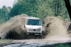 Mercedes-Benz Unimog U 3000 - U 5000 (fot. Daimler AG)