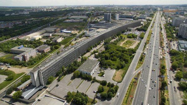 Kompleks laboratoryjno-biurowy przy szosie Warszawskiej, Moskwa (fot. nieznany)