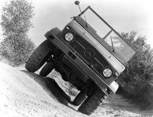 Unimog S - 1956 rok (fot. Daimler AG)