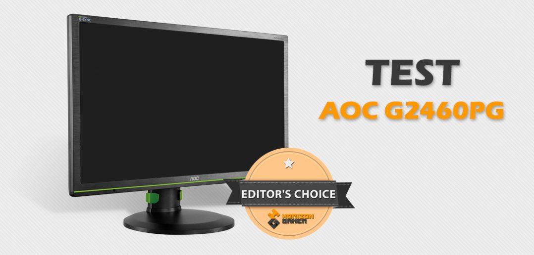AOC G2460PG - test