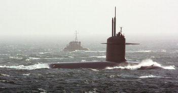 Zderzenie okrętów podwodnych HMS Vanguard i Le Triomphant