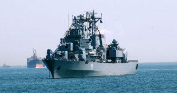 Rumuńska fregata Marasesti